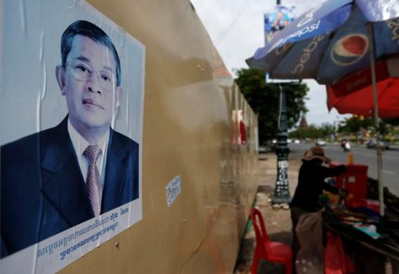 'Partij van premier Hun Sen haalt alle zetels binnen'