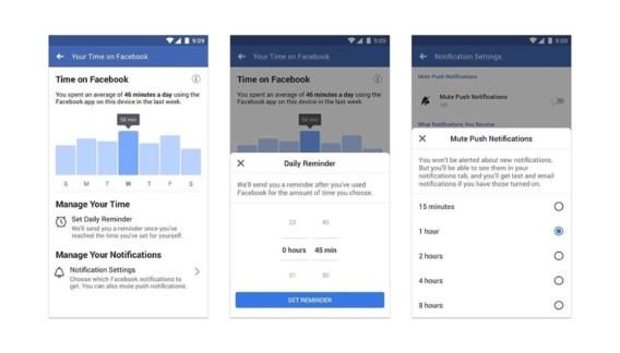 Instagram en Facebook krijgen een timer