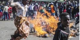 Dodelijke protesten na verkiezingen in Zimbabwe
