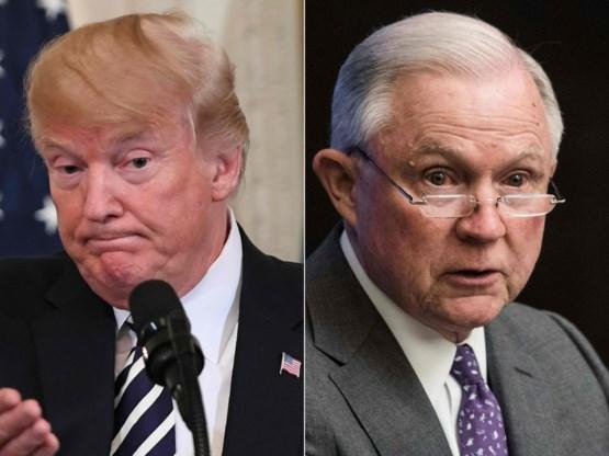 Trump vraagt einde te maken aan onderzoek naar Russische inmenging bij verkiezingen: 'Stop de heksenjacht'