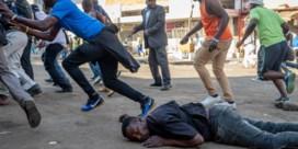 Leger slaat protest na verkiezingen uiteen