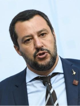 Salvini dient klacht in tegen 'Gomorra'-auteur Saviano