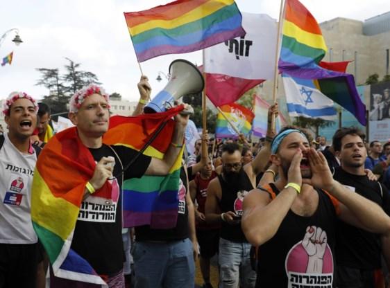 Tienduizenden Israëli's eisen gelijke rechten op Gay-Pride-Parade