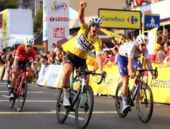 Pascal Ackermann pakt tweede ritzege op rij in Ronde van Polen
