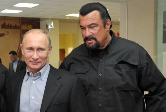 Steven Seagal wordt gezant voor Rusland