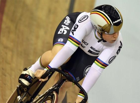 Achtste EK-medaille voor België: Degrendele sprint naar het zilver op de keirin
