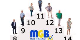 MGB presenteert verder zijn lijst