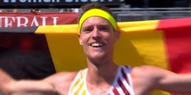 Koen Naert behaalt goud in marathon: 'Ik was zo zenuwachtig'