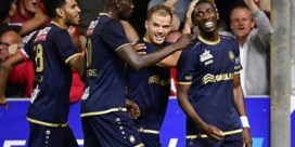 Owusu knalt Antwerp naar 7 op 9 met late treffer tegen Moeskroen
