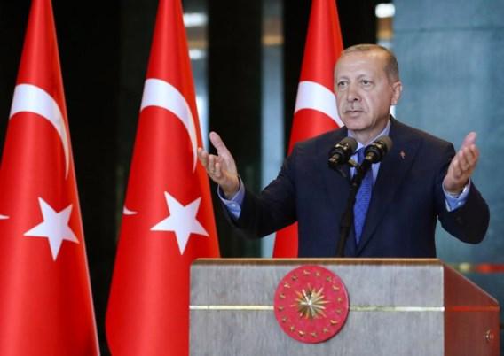 Erdogan: 'Wij zijn klaar voor oorlog, met alles wat we hebben'