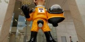 Ophef over standbeeld in Fukushima