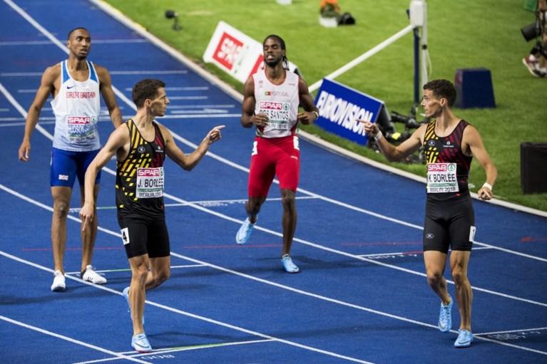 """Europees zilver en brons voor Kevin en Jonathan Borlée op 400 meter: """"Mooiste moment uit onze carrière"""""""