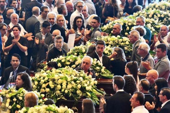 Alle lichamen geborgen Genua, achttien slachtoffers kregen staatsbegrafenis