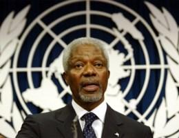 Voormalig VN-secretaris-generaal Kofi Annan overleden