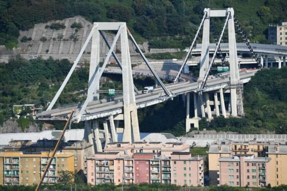 Snelwegbrug bij Genua moet volgens experts onmiddellijk worden afgebroken of gestut