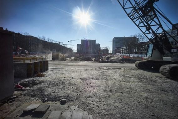 'Veiligheid in gevaar': grootste werf van Antwerpen hervat
