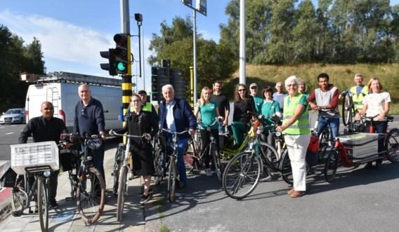 """Fractieleider Groen over situatie R8:  """"Ik fiets hier met toegeknepen billen"""""""