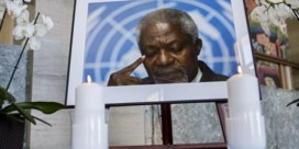 Kofi Annan krijgt staatsbegrafenis in geboorteland