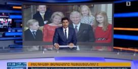 Koning Filip verliest hart aan Armenië