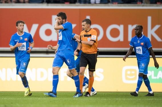 Nieuwkomer helpt AA Gent aan zege in dolle slotfase