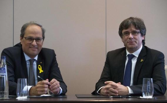 Catalaanse president brengt blitzbezoek aan Belgische woning Puigdemont