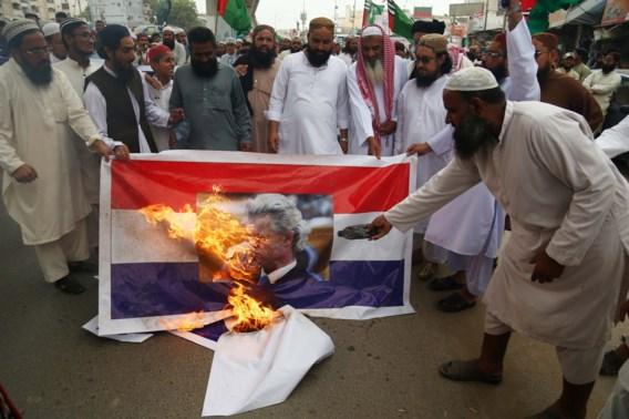 Pakistan claimt 'grote overwinning' na afblazen cartoonwedstrijd Geert Wilders