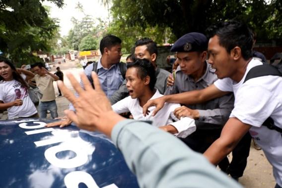Journalisten veroordeeld tot zeven jaar cel in Myanmar