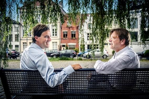 """Mathias De Clercq en Guy Verhofstadt: """"Als wij de verkiezingen in Gent winnen, wil ik nog eens zien wat er gebeurt"""""""