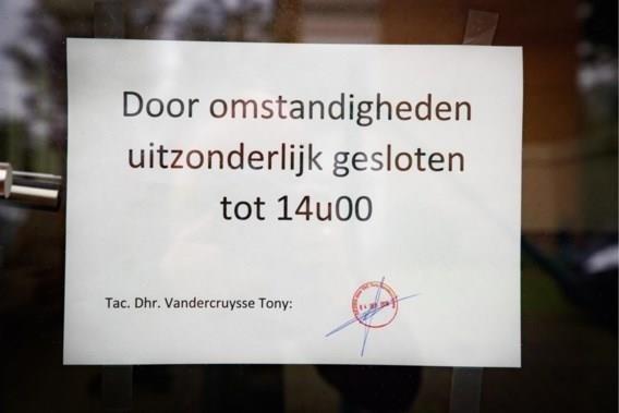 Directeur van school in De Panne blijft thuis, personeel weer aan het werk