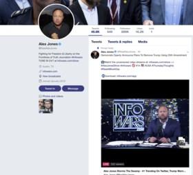 Twitter sluit accounts van extreemrechtse complotdenker