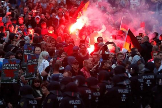 'Beelden van extreemrechts geweld in Chemnitz lijken bewuste desinformatie'