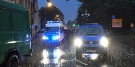 'Gemaskerde mannen vielen joods restaurant aan in Chemnitz'