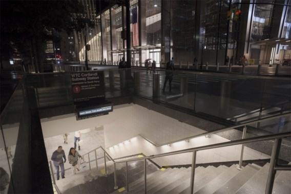 Metrostation aan World Trade Center 17 jaar na 9/11 weer open