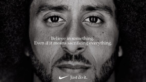 Verkoop Nike piekt, ondanks woede van Trump