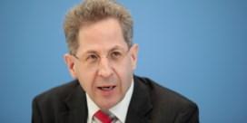 Chef van Duitse veiligheidsdiensten komt in nauwe schoentjes