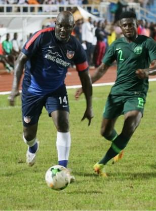 President George Weah (51) speelt nog eens voor Liberiaanse nationale elf