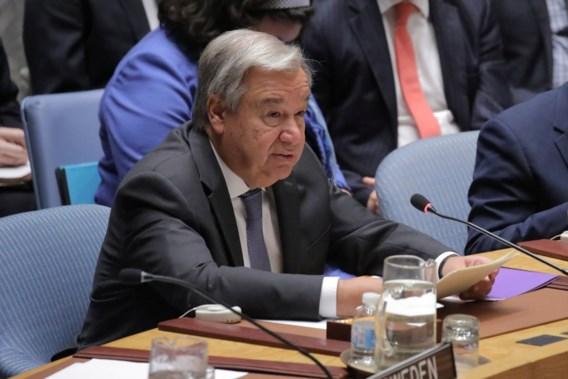 VN-baas Guterres waarschuwt voor 'bloedbad' in Idlib