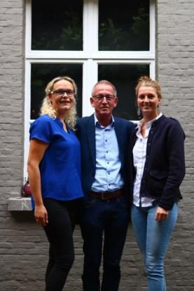 Van links naar rechts: Jasmijn Meisman, Wim Vorsselmans en Eva Verbunt.