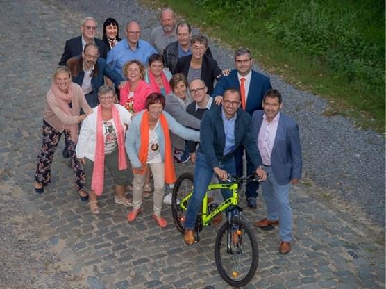 CD&V + heeft de ambitie om een masterplan 'sporten in Kluisbergen' te ontwikkelen. Foto: if