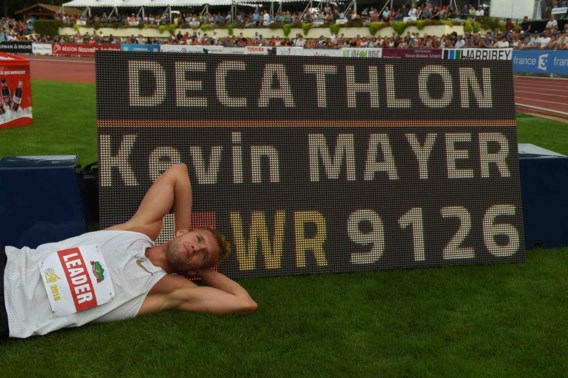 Fransman Kevin Mayer verpulvert wereldrecord op de tienkamp
