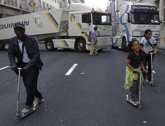 Elektrische deelsteps moeten Brussel mobieler maken