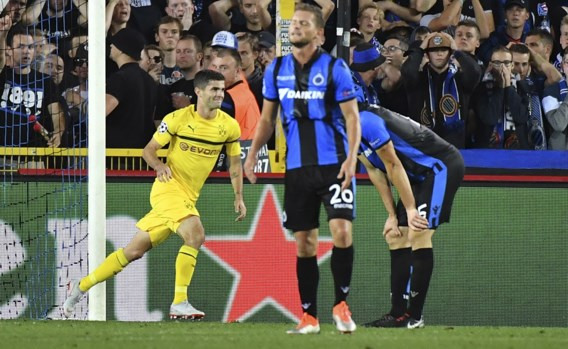 Verdienstelijk Club Brugge ongelukkig onderuit tegen Dortmund