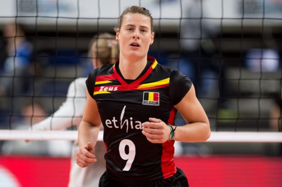 Freya Aelbrecht zet volleycarrière voort in Japan