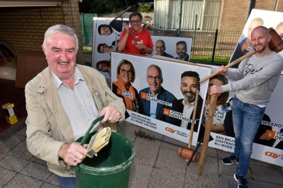 'Plakken en politiek, dat is een ploegsport'