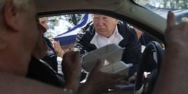Trump bezoekt rampgebieden Florence en belooft hulp