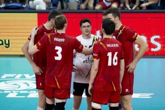 Red Dragons verliezen eerste wedstrijd in tweede ronde WK volleybal :