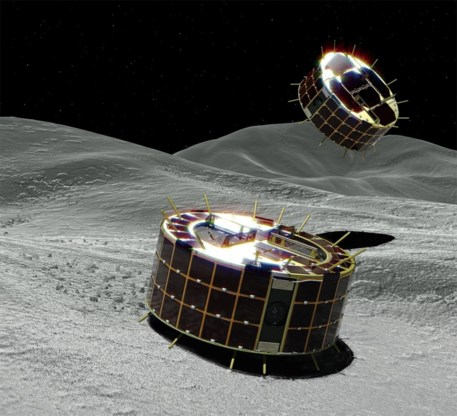 Japan laat robotjes los op planetoïde