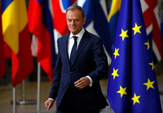 Tusk blijft geloven in 'goed compromis voor iedereen' over Brexit