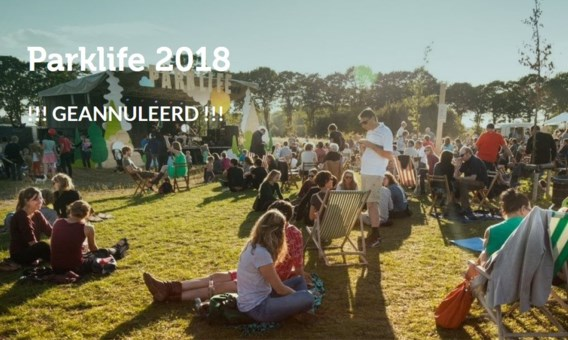Geen Parklife morgen in Gent