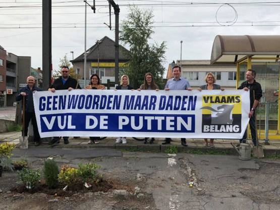 Vlaams Belang voerde actie